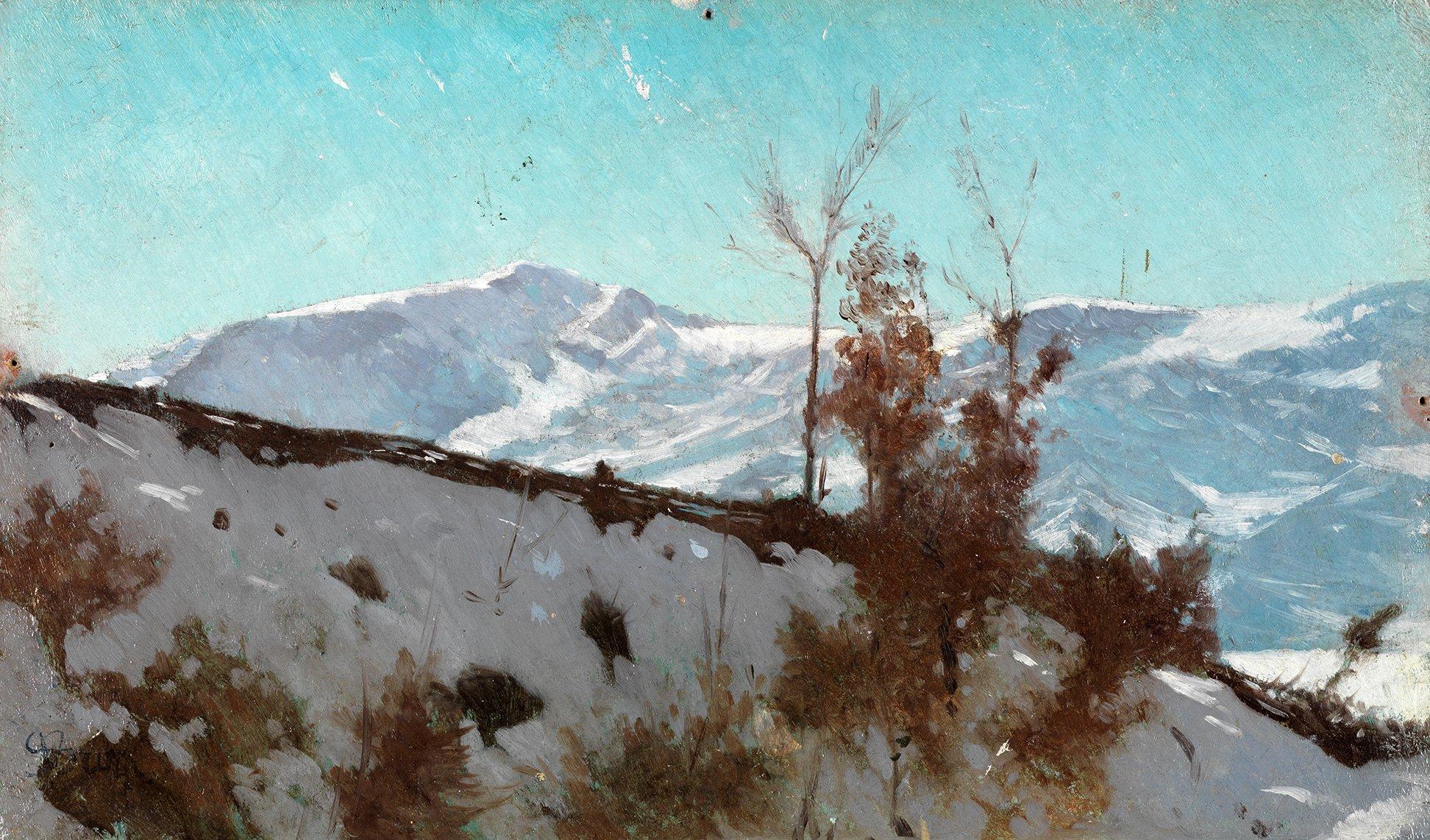 Neve sulle Colline