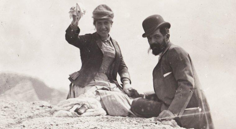 Fragiacomo e la moglie Eugenia